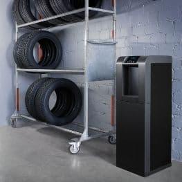 Wasserspender Biorefresh im Reifenhandel
